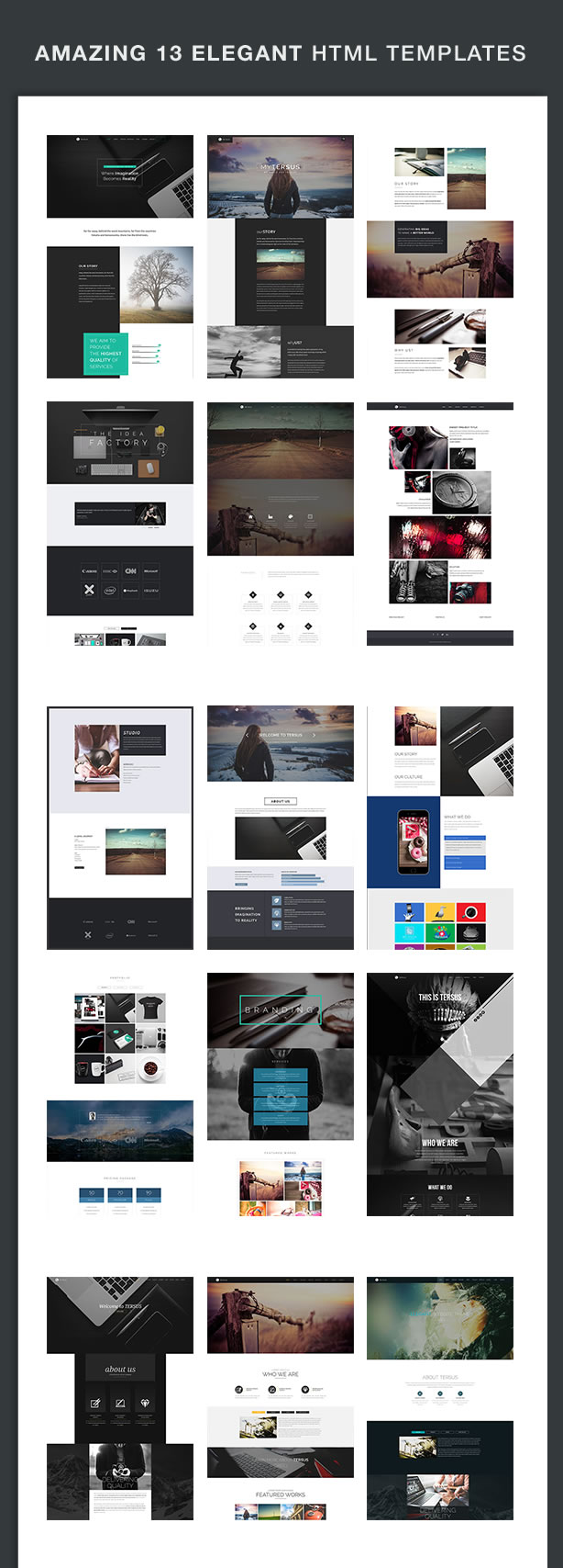 Tersus - Business Portfolio Agency Parallax Html Template by XpeedStudio