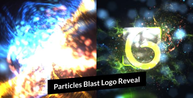 Particles-Blast-Logo-Reveal