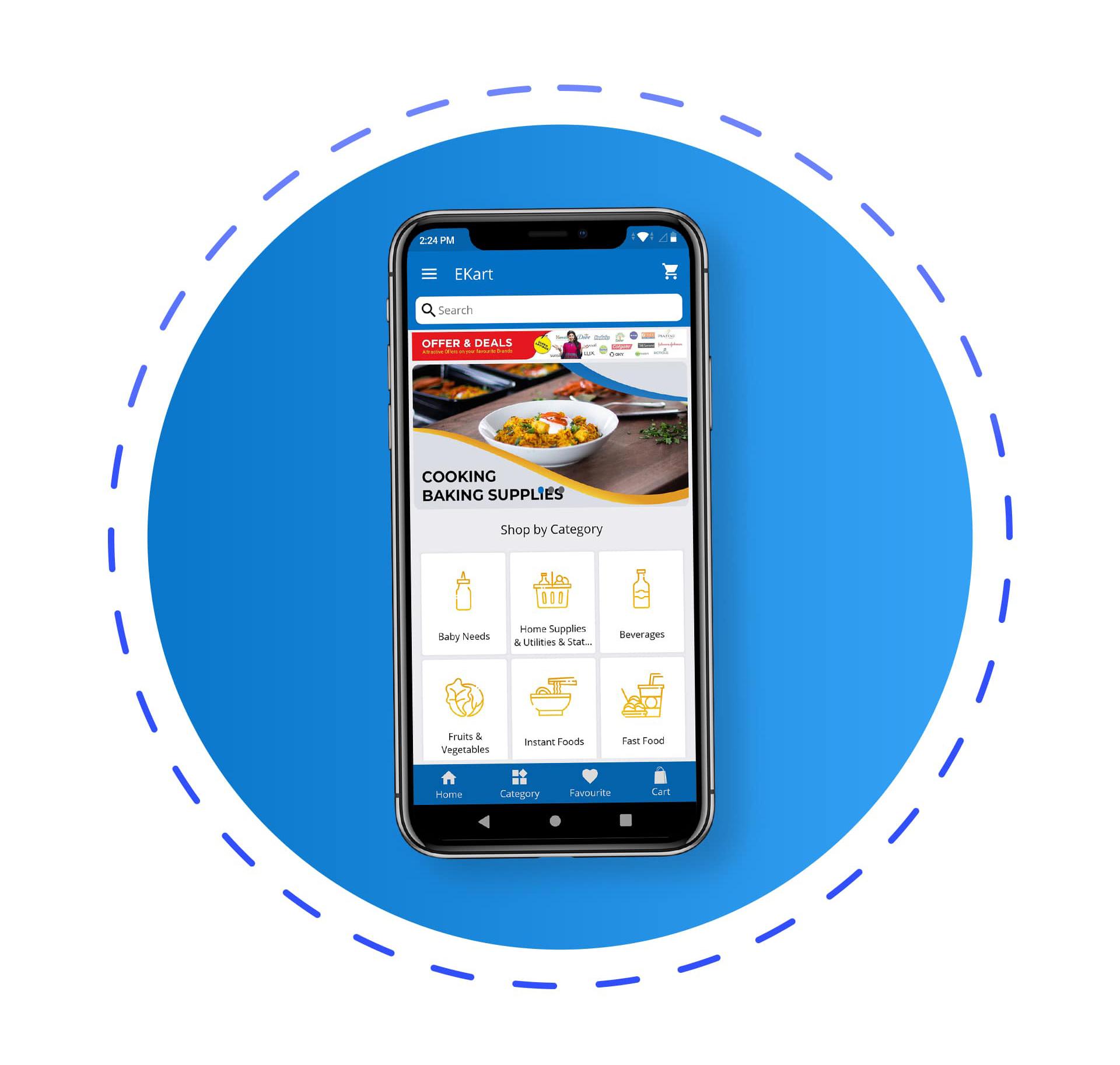 eKart - Android e-commerce app - 1