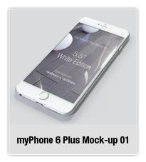 myPhone 6 Plus Mock-up 02 - 4