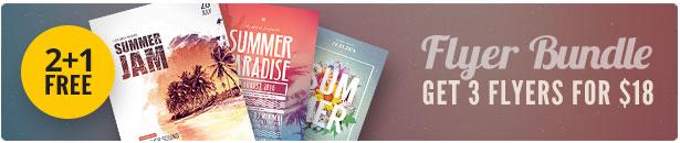 Summer Flyer Bundle Vol14
