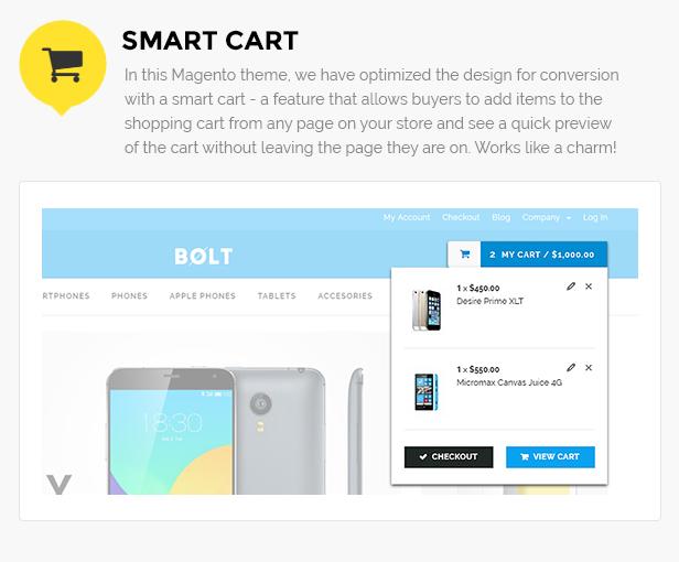 Mobile shop magento