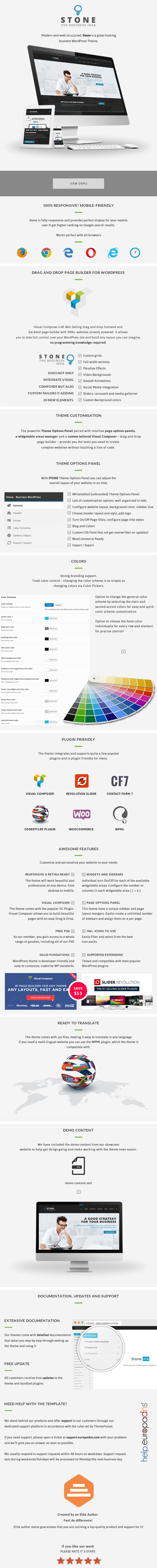 Stone - Responsive Business WordPress Theme