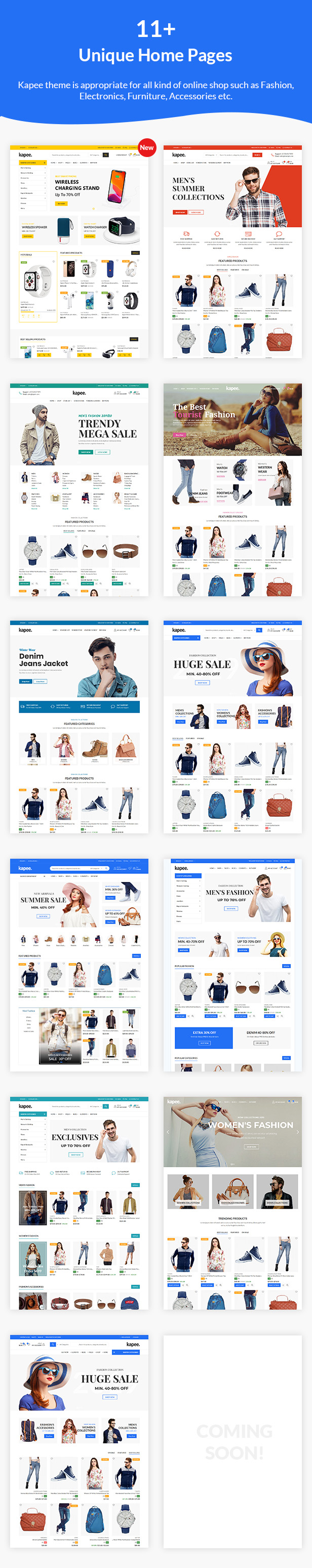 Kapee - Fashion Store WooCommerce Theme 2