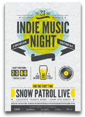 Indie Electronic Flyer/Poster - 22