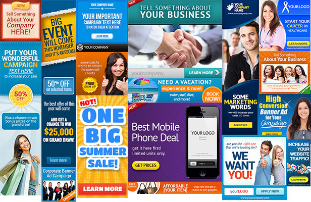 web banner design templates