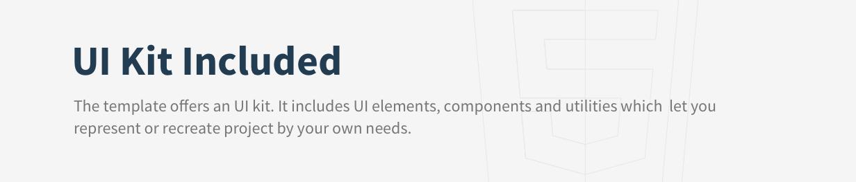 Bona Vue JS UI Kit Included