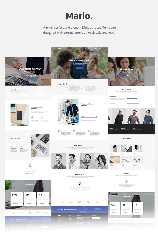 Mario. - Creative Agency HTML Template - 5