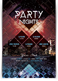 Party Nights Flyer