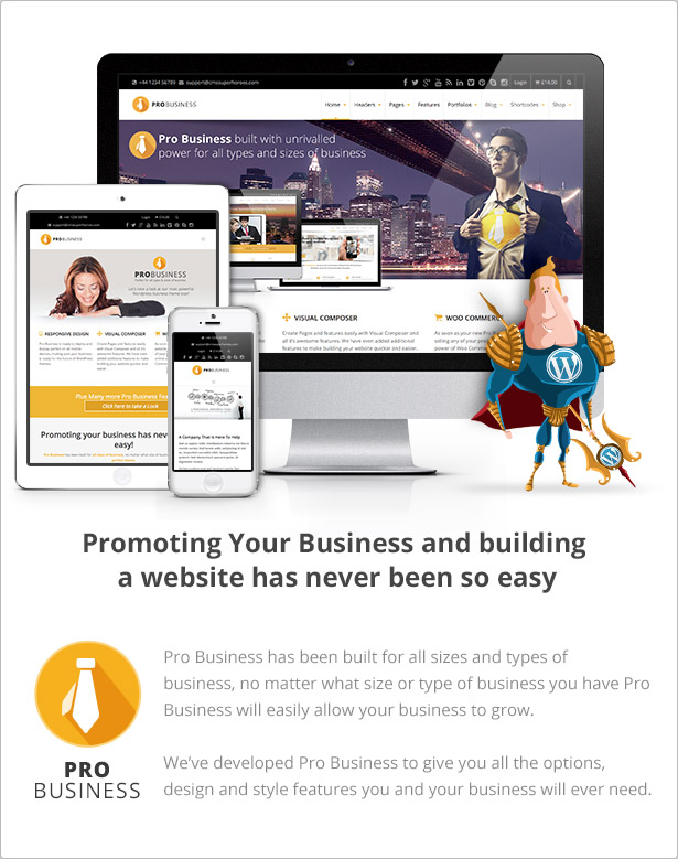PRO Business - Responsive Multi-Purpose Theme - 6