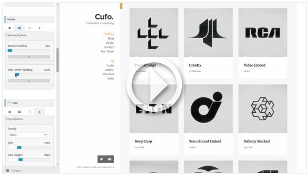 Cufo - Responsive WordPress Portfolio Theme - 3