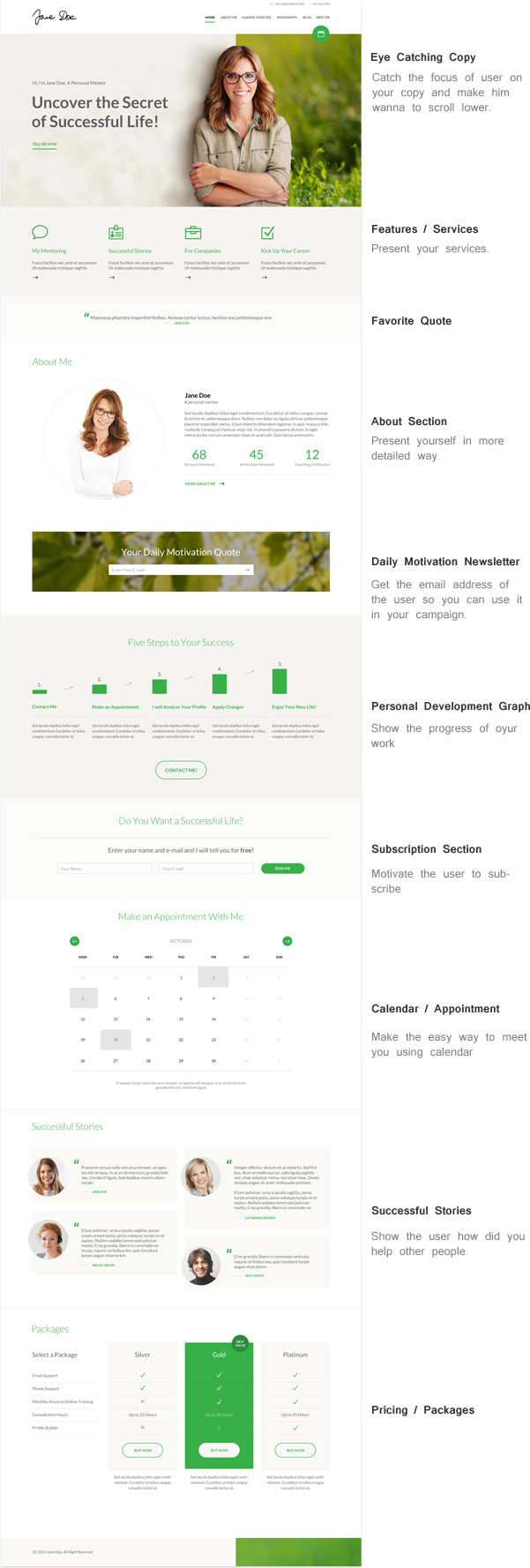 Mentor - Personal Development Coach HTML Template - 2