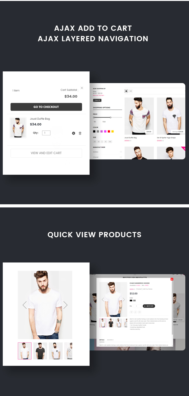 Wenro - Multipurpose Responsive Magento 2 Theme - 16 Homepages Fashion, Furniture, Digital and more