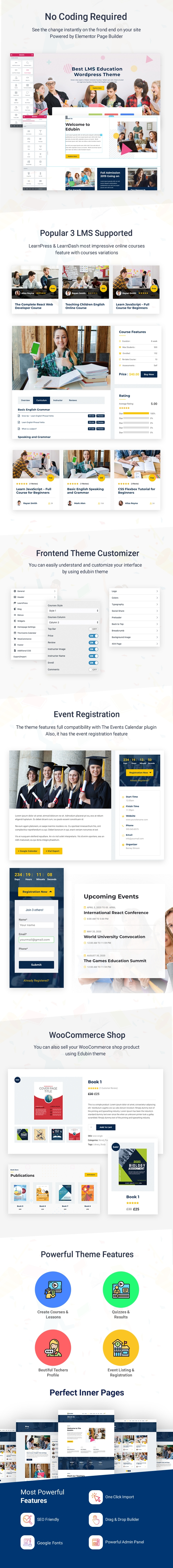 Education WordPress Theme | Edubin