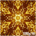 Gold Waves Abstract Backgrounds - 62
