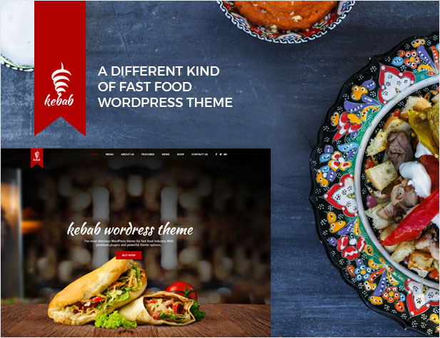 Kebab - Restaurant, Fast Food WordPress Theme - wordpress, themeforest, entertainment