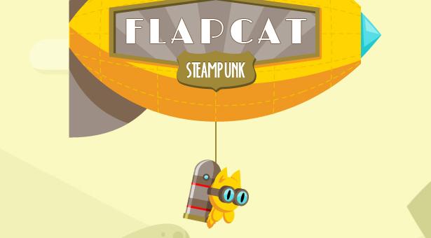Game FlapCat Steampunk - 5