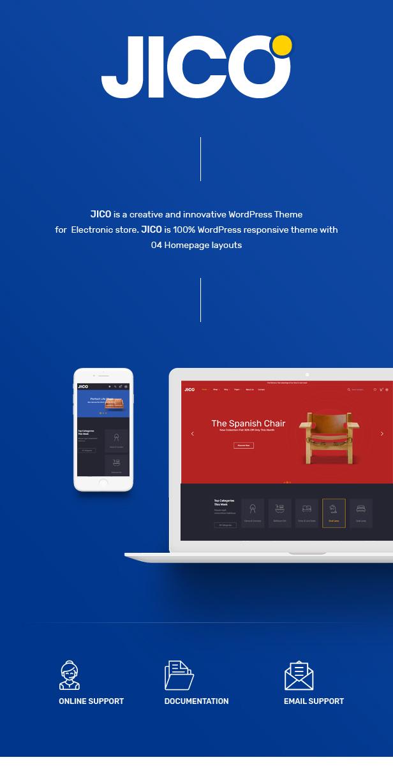 Jico - Furniture & Home Decor for WooCommerce WordPress 22