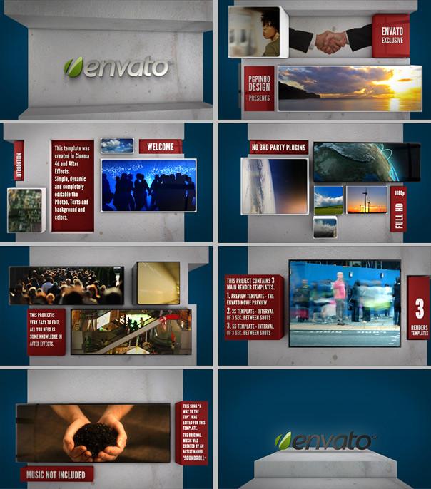 Cubes SlideShow Film