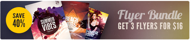 Summer Flyer Bundle Vol12