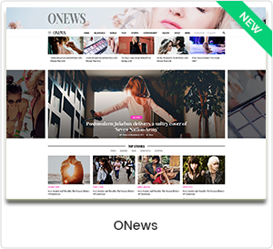 ONews - Modern Newspaper & Magazine WordPress Theme