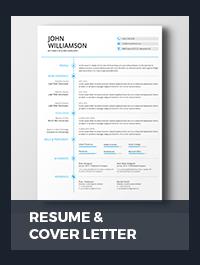 Resume & Cover Letter - 35