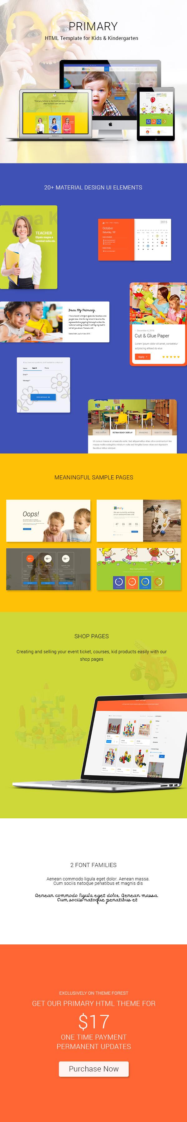 Primary HTML Theme
