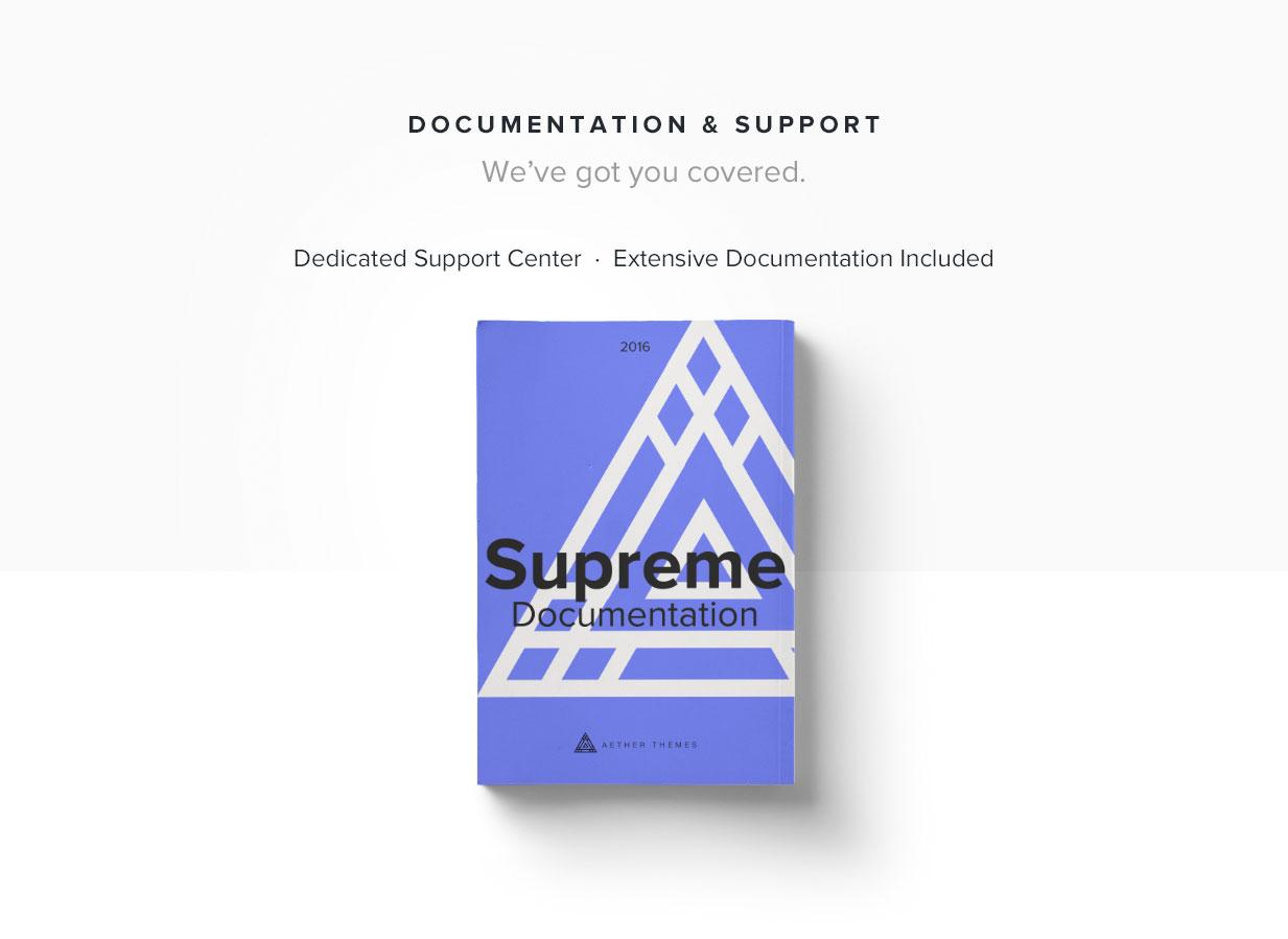 Supreme - Multi-Purpose HTML Template - 5