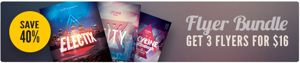 City Flyer Bundle Vol.05