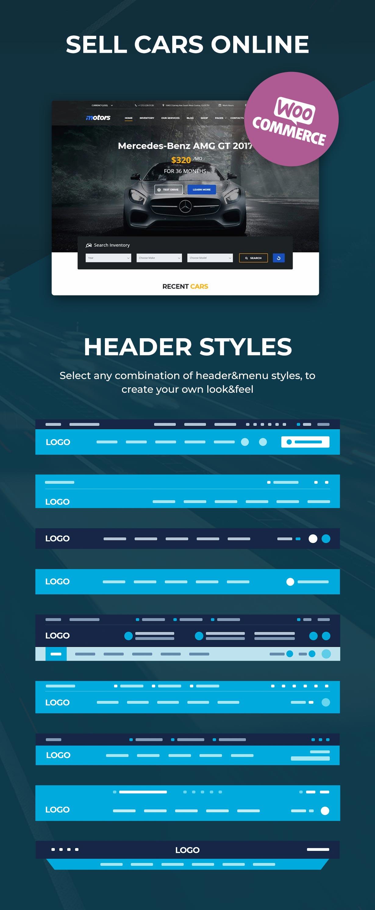 Motors - Car Dealer, Rental & Classifieds WordPress theme - 6
