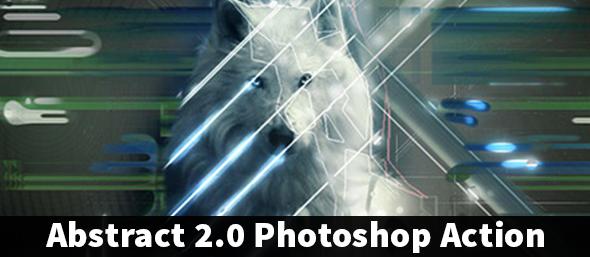 PolyArt Photoshop Action - 2