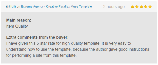 Extreme Agency - Creative Parallax Muse Template - 1