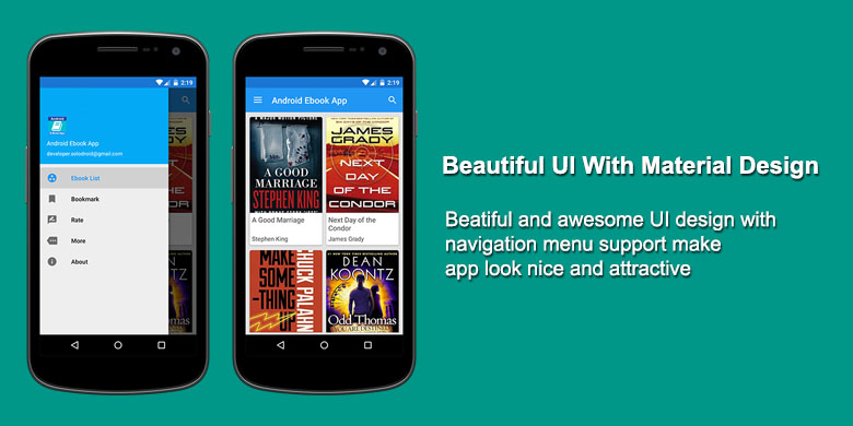 Android Ebook App - 4