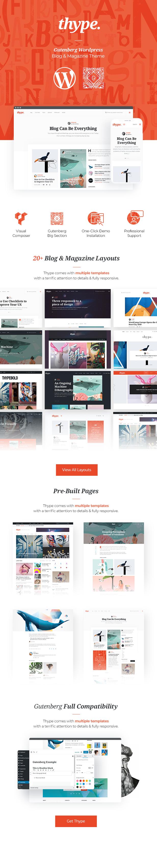 Thype   Personal Blog WordPress - 2