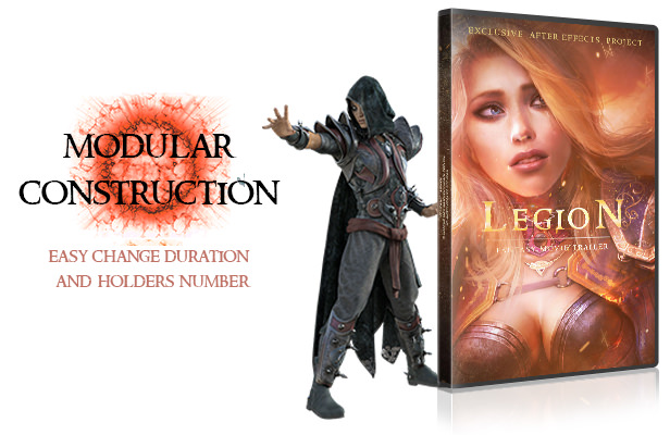 Legion - Fantasy Movie Trailer - 2