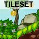 Platform Game Tileset 6: Volcano - 3