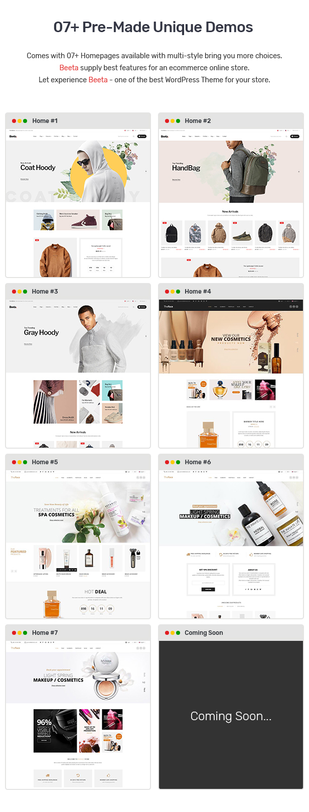 Beeta - Multipurpose WooCommerce Theme 22
