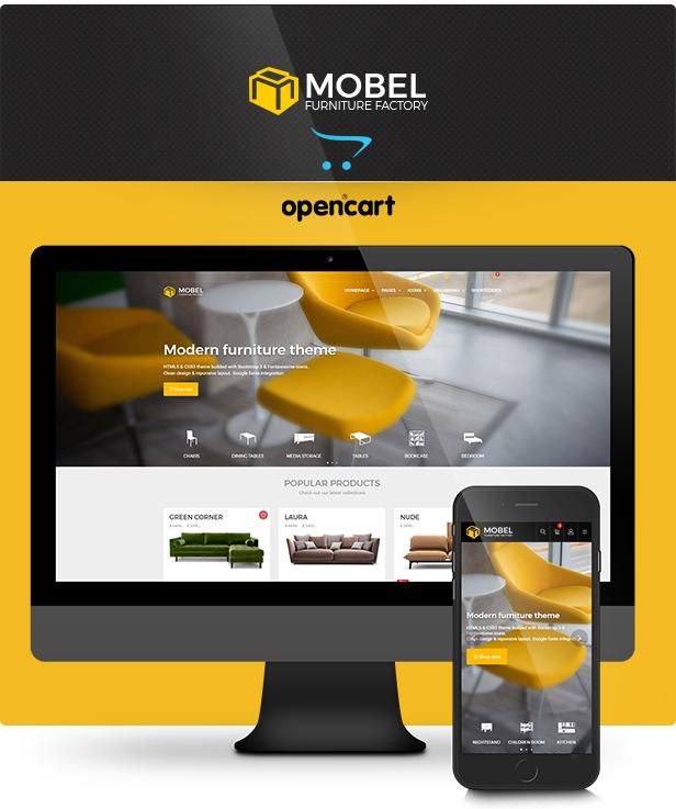 Mobel - Furniture OpenCart Theme - 3