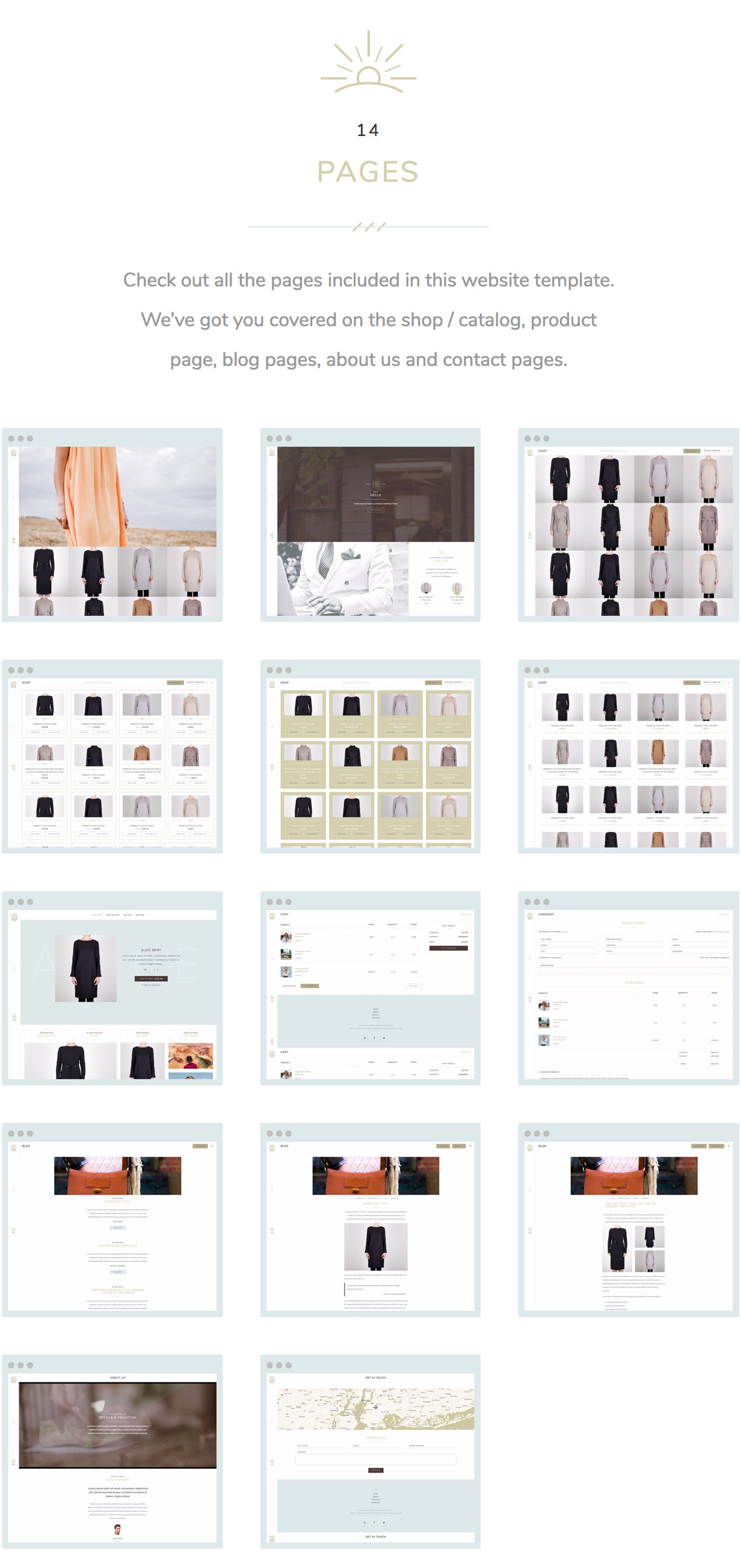 TS - Fashion & Apparel Store Website Template - 2