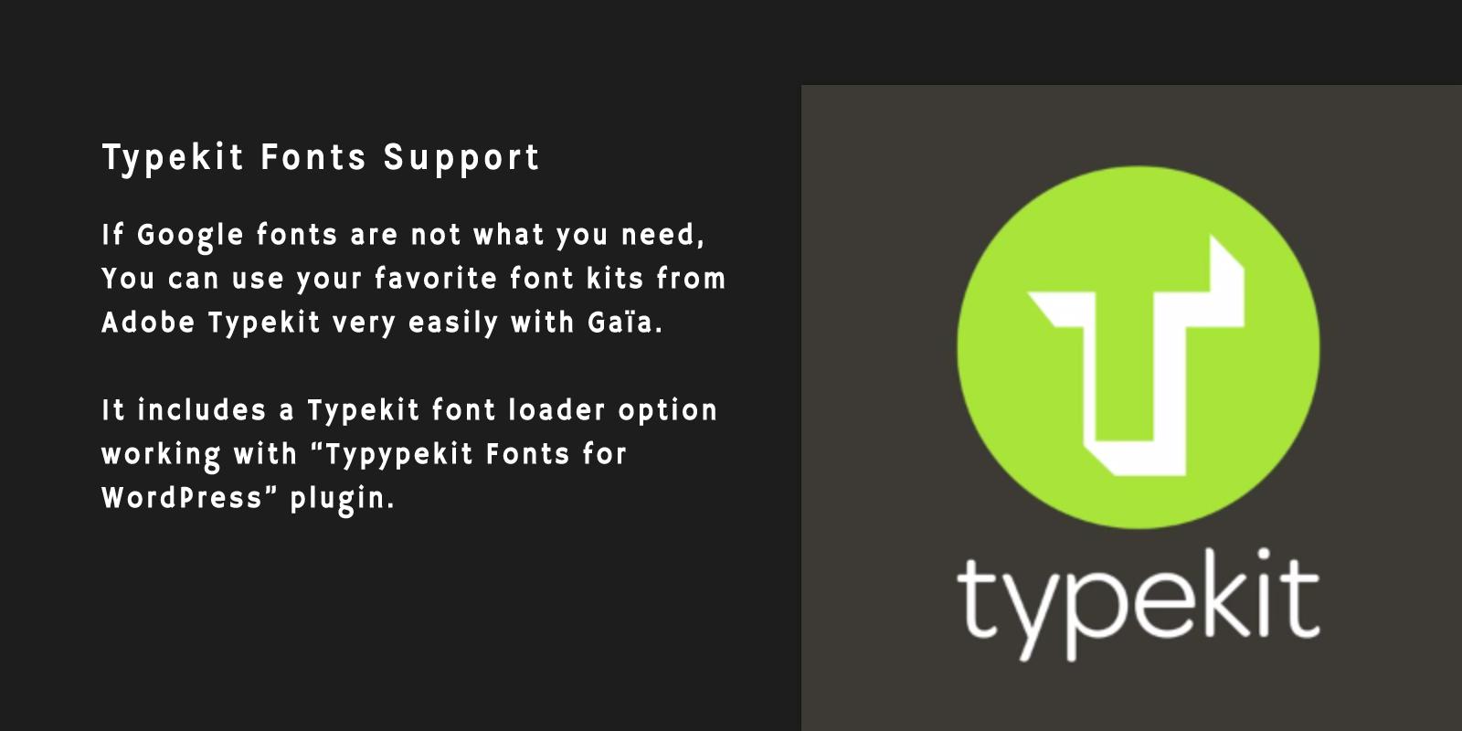 Typekit Fonts
