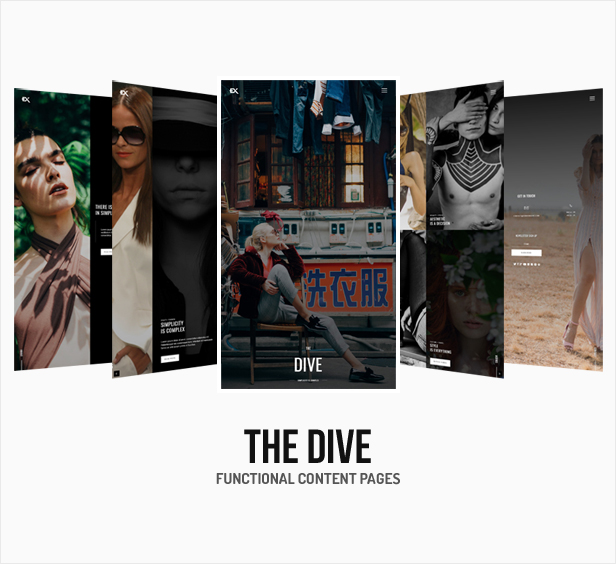 The Dive || The Template