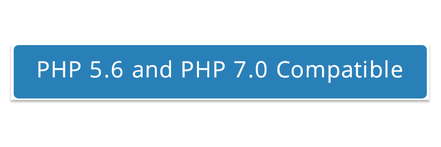 php5.6 and php 7.0 compatible
