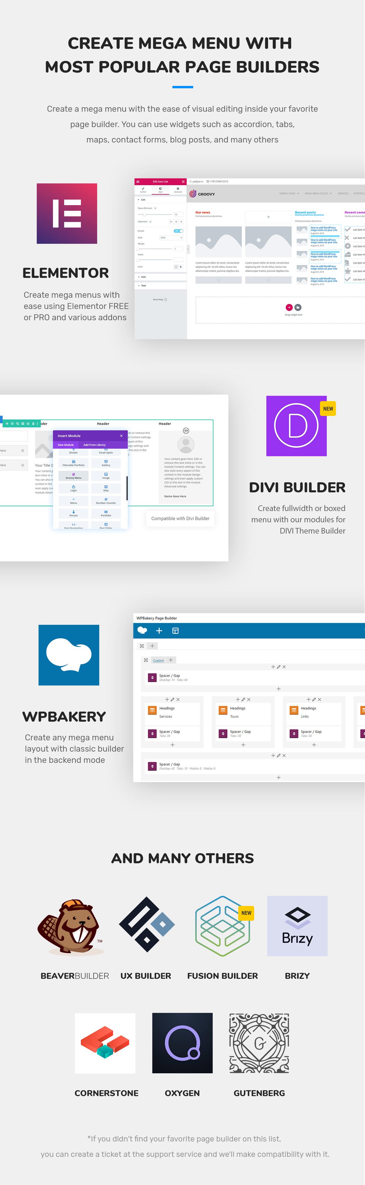 Groovy Menu v2.4.2-WordPress大型超级菜单插件