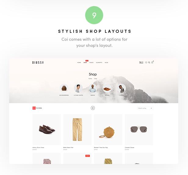 Diassy - Fashion WooCommerce Theme - 3