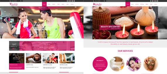 Young Fitness - Spa & Fitness Joomla Template - 5