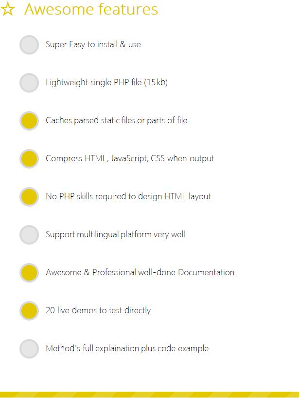 pTemplate: Daha İyi PHP Kod HTML Tasarım Ayrı - 8