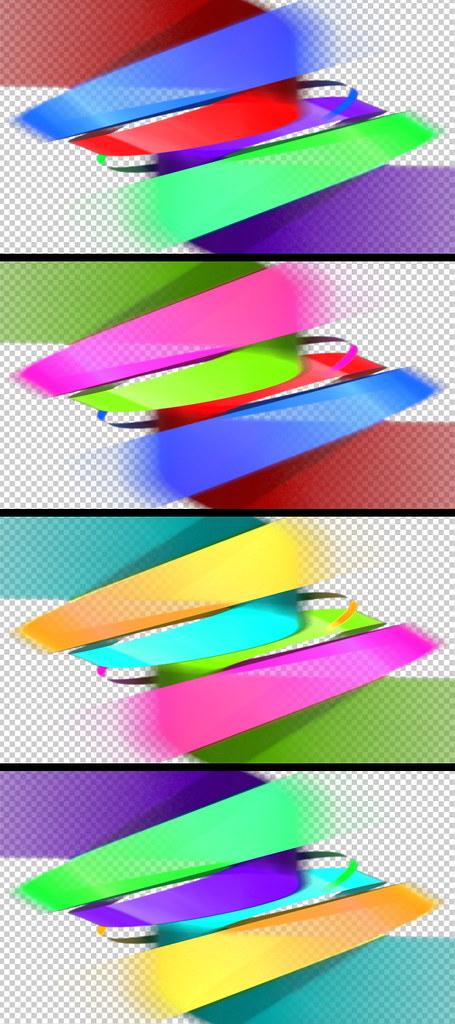 Large Preveiw Transition 2 Color Variations