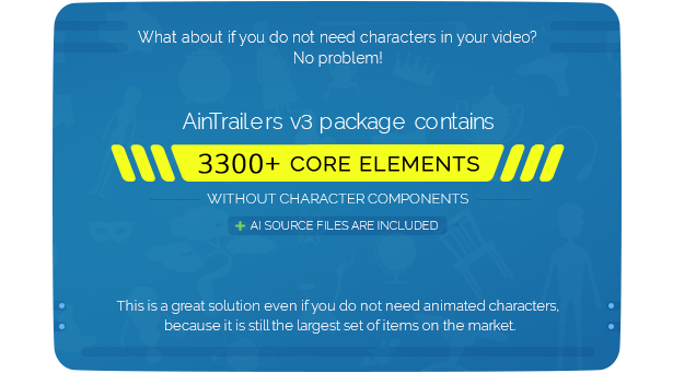 AinTrailers | Explainer Video Toolkit with Character Animation Builder - 66