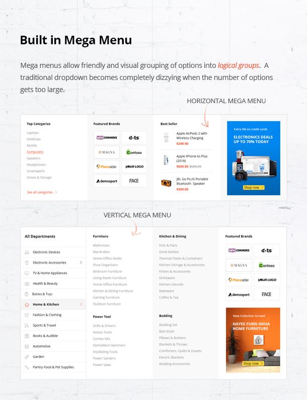 Besa - Elementor Marketplace WooCommerce Theme - 12