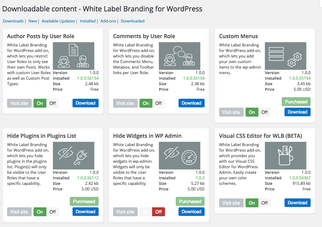 Discussion on White Label Branding for WordPress (Page 55)